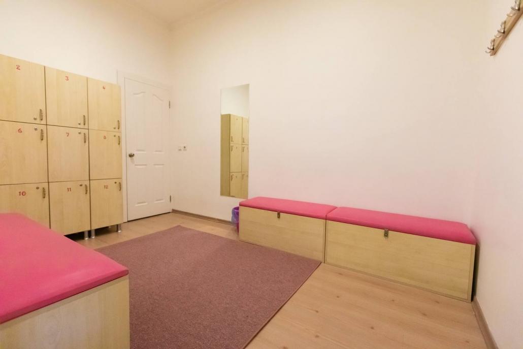 Dünya Dans Merkezi Soyunma Odaları